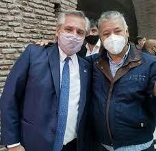 Los trabajadores ladrilleros, junto a Alberto Fernández y Axel Kicillof